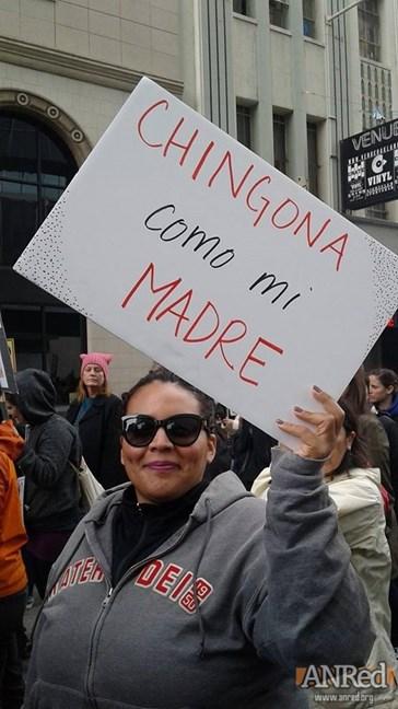 Women's March...