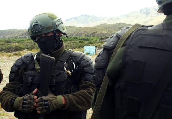 Represión a mapuches...