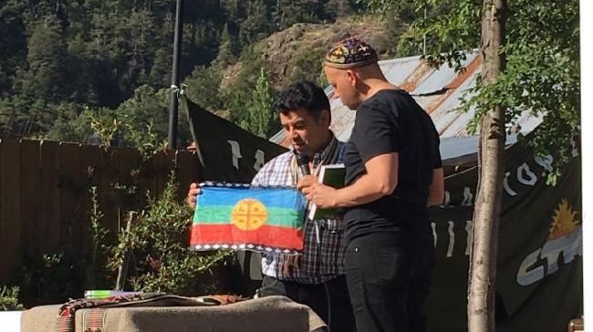 Mapuches reclaman fr...