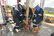 Trabajadores petrole...