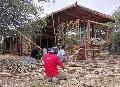 Entregan la primera casa ecológica a wichis de comunidad Las Llanas II