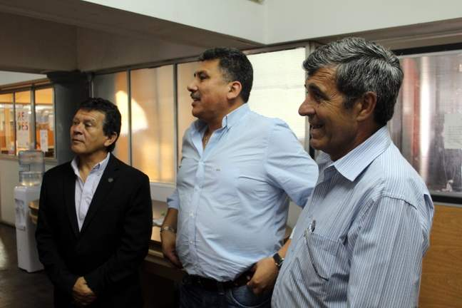 Solís, Lucena y Pier...