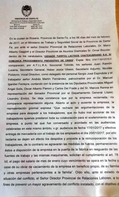 Acta, pág.1...