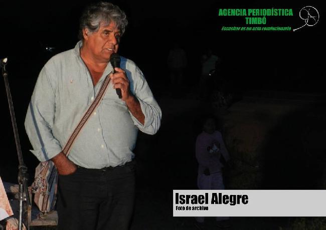 """Israel Alegre: """"El r..."""