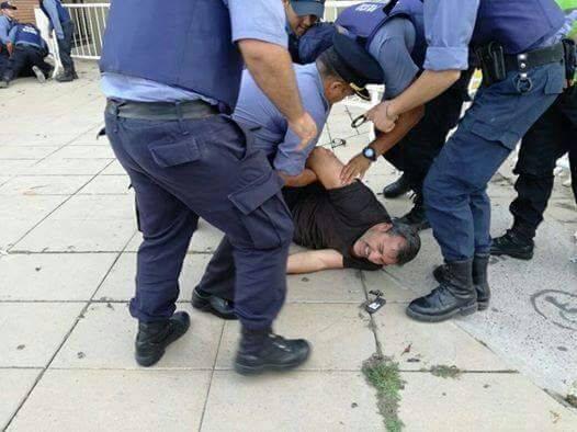 Represión y detencio...