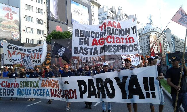 AGR-Clarín. Corte en...