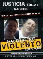 Policía Martín Altieri: macho violento