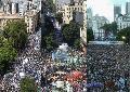 La marcha de la CGT, el Sipreba y el escenario de huelga general