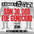 Este 24 de marzo, marchamos con el Encuentro Memoria, Verdad y Justicia