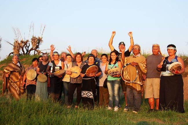 Ceremonia mapuche a ...