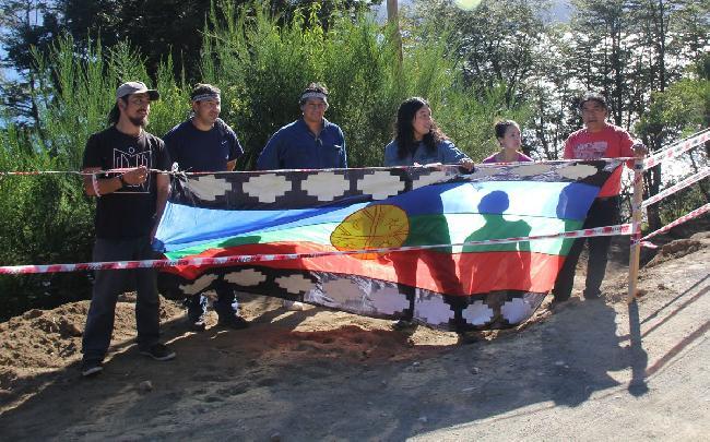 Mapuches paralizan u...