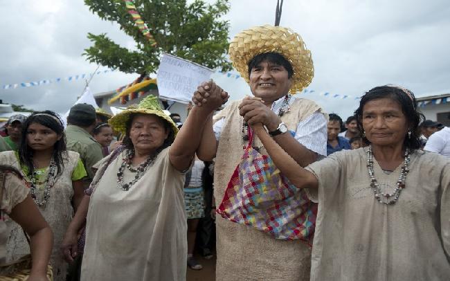 Bolivia: Pueblo indí...