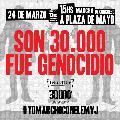 24/3 Marchá con el Encuentro Memoria Verdad y Justicia