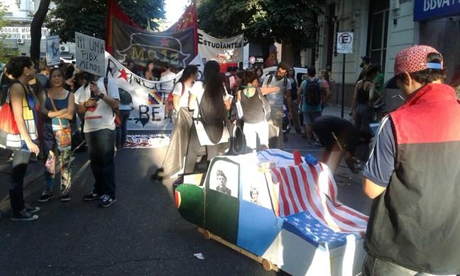 Rosario: Por los DDH...