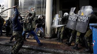 Grecia: violentos en...