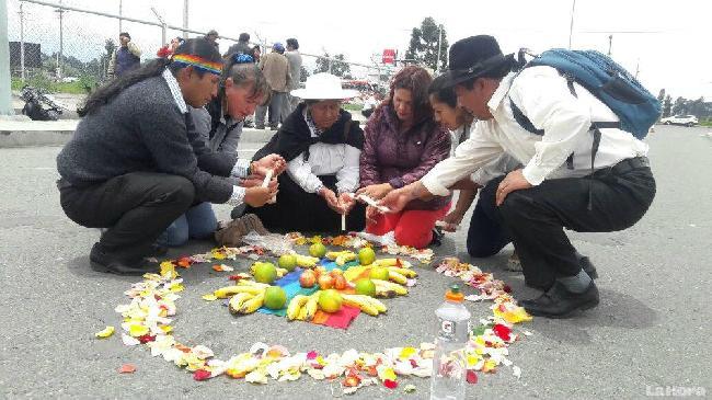 Ecuador: Dirigentes ...