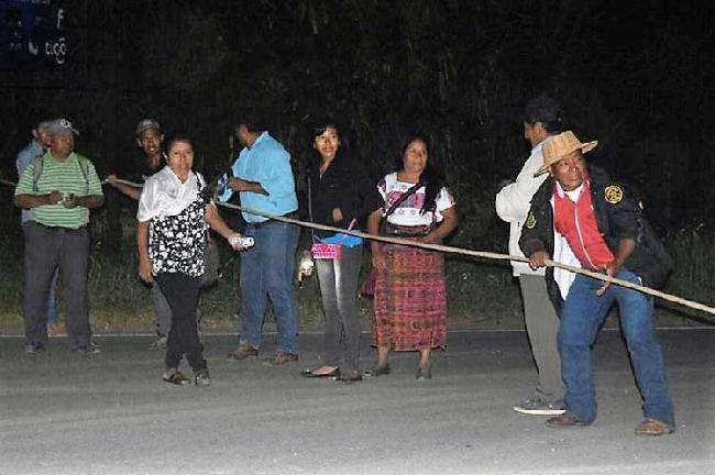 Protesta indígena po...