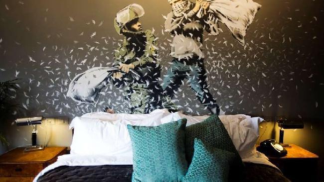 Banksy ofrece habita...
