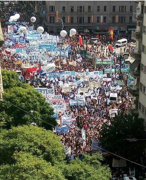 Marcha en Buenos Air...