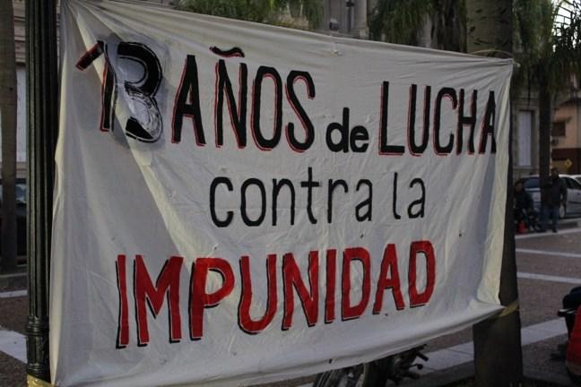 Contra la impunidad...