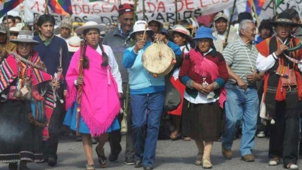 Indígenas argentinos...
