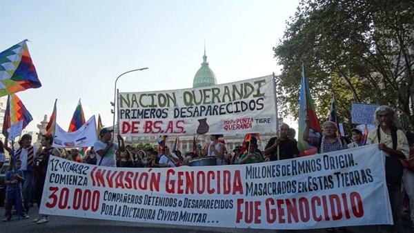Repudio a los genoci...