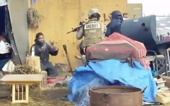 Policía Militarizada...