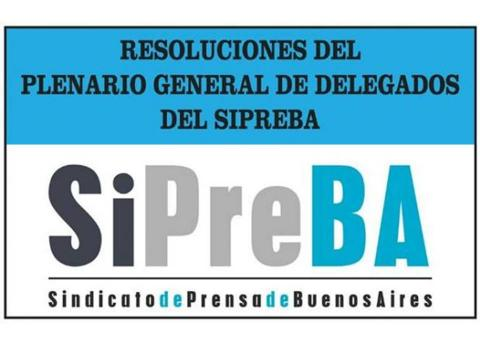 Resoluciones del Ple...
