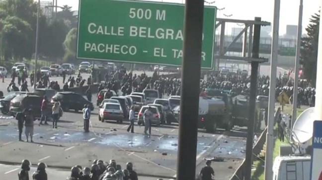Represión en Panamer...