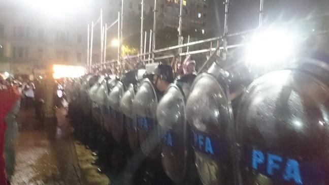 Basta de represión...