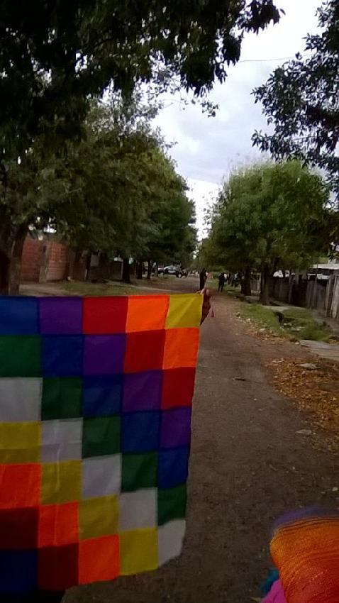 Represión a barrio Q...
