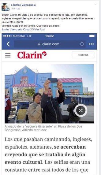 Mirá como #ClarínMie...