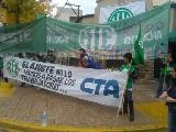 "Persecución sindical en Cipolletti: ""nos imputan haber escrito las paredes con marcador"""