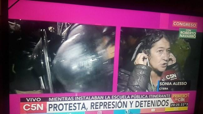 Urgente represión: L...
