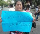 Feriantes de la colectividad peruana piden por sus fuentes de trabajo
