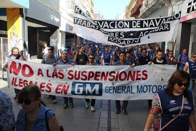 Marcha CGT y CTAT...