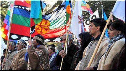 Comunidades mapuches...