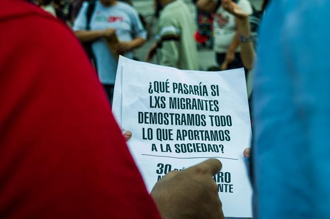 Paro Migrante...