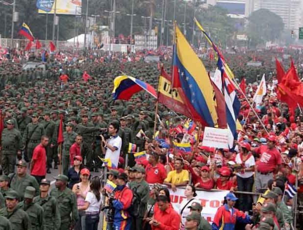 Venezuela. ¡Al comba...