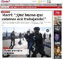 """Clarín y su """"periodismo de guerra"""" (contra la clase obrera)"""