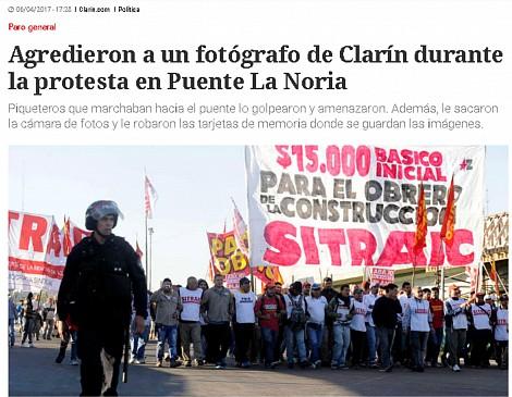 Maniobra de Clarín c...