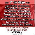 Mayo: el mes de las Trabajadoras y Trabajadores