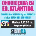 Atlántida-Televisa: choriceada contra los despidos