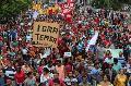 Huelga en Brasil: Piquete en el Puente para el futuro