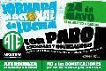 Jornada Nacional de Lucha de ATE con paro, asambleas y movilizaciones