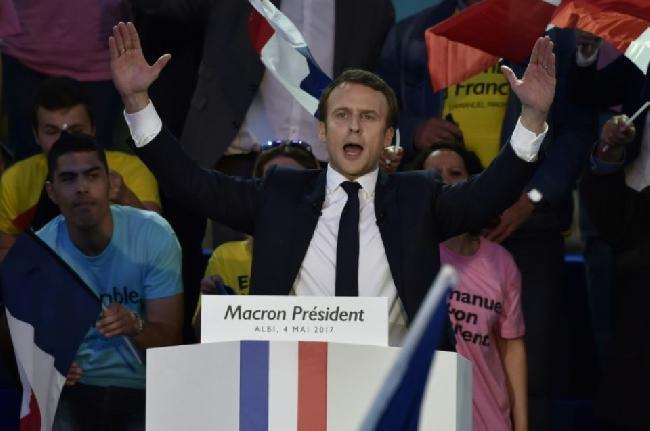 Ganó Macron, el cand...