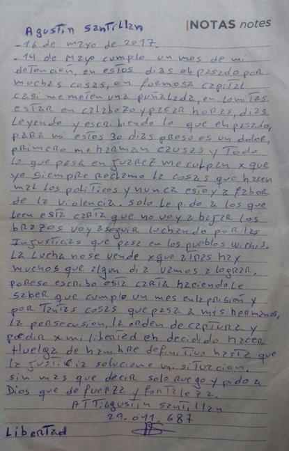 Agustín Santillán en...