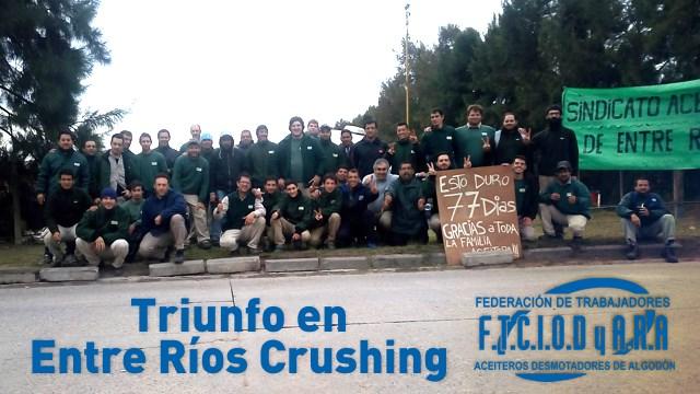 Triunfo en Entre Río...