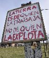 Luján: patota armada intenta desalojar tierras de Parada Libertad