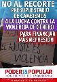 Cambiemos recorta la ayuda social para financiar más represión